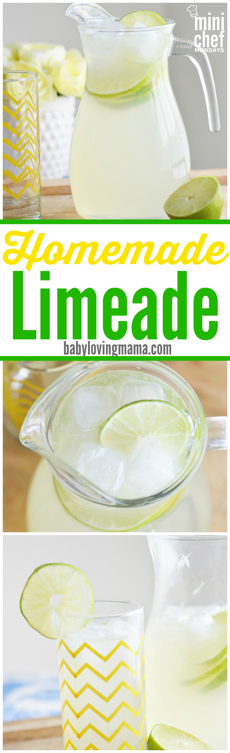 This refreshing homemade limeade is a great alternative to lemonade. It uses simple syrup instead of regular sugar to make it the best limeade recipe around!