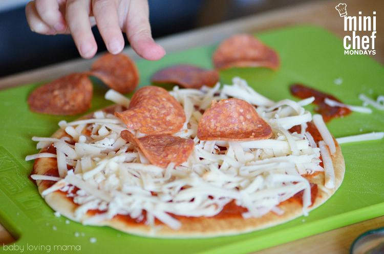Making Personal Flatbread Pizzas