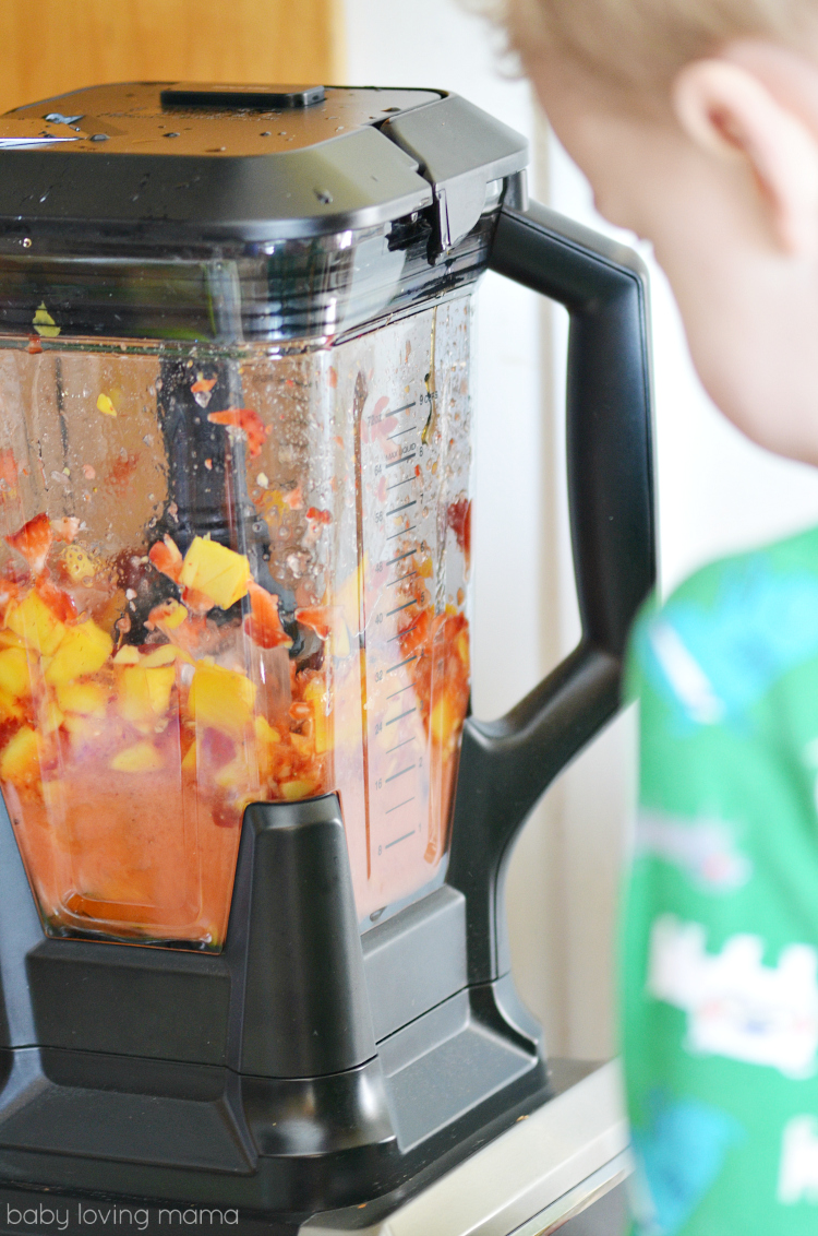 Using Ninja Blender to Make Italian Ice