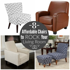 8 Affordable Chairs to Rock Your Living Room