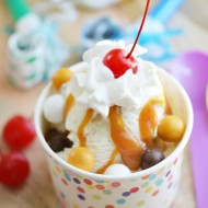 Celebrating the Everyday with Crunchkins™ Candy Caramel Sundaes