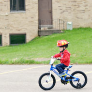 Learning to Ride with the Schwinn Burnout SmartStart Bike