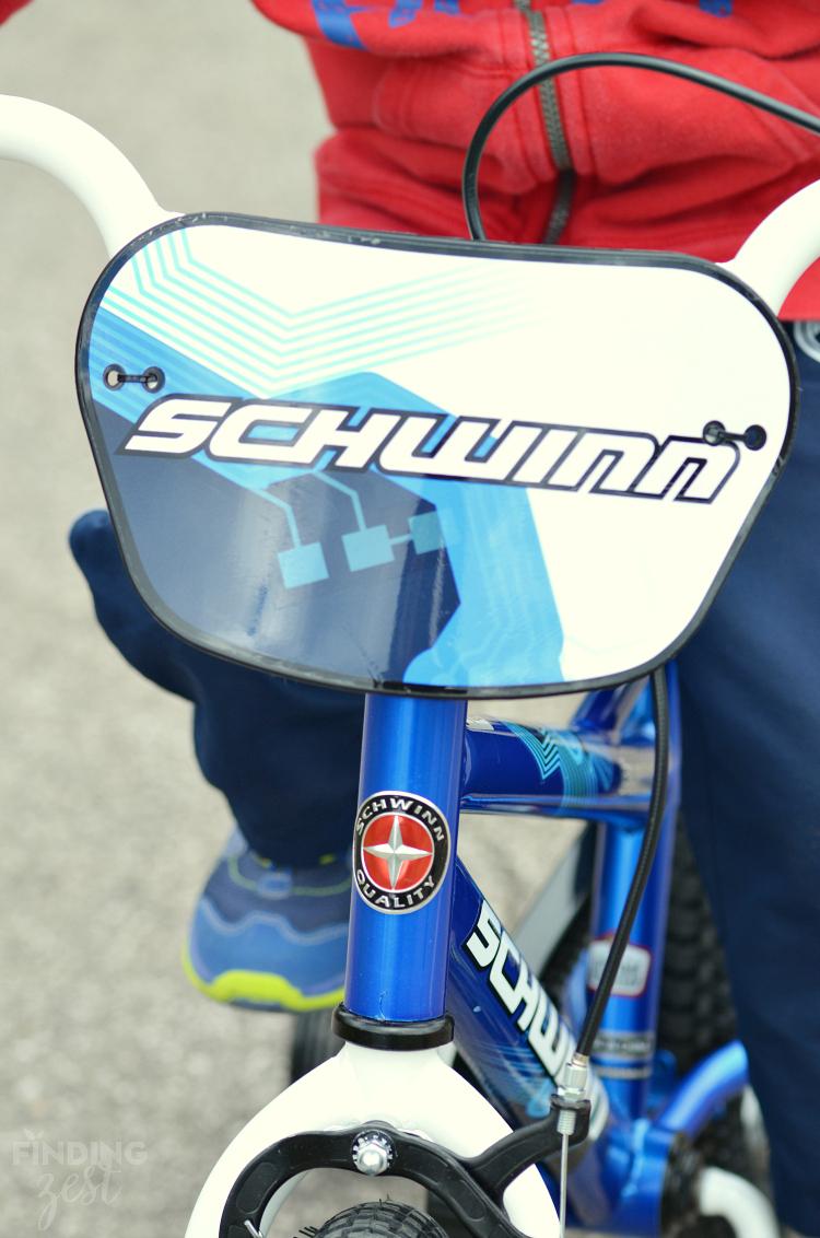 Schwinn Burnout Kids Bike Front - Finding Zest