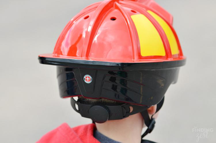Schwinn Fireman Bike Helmet Back