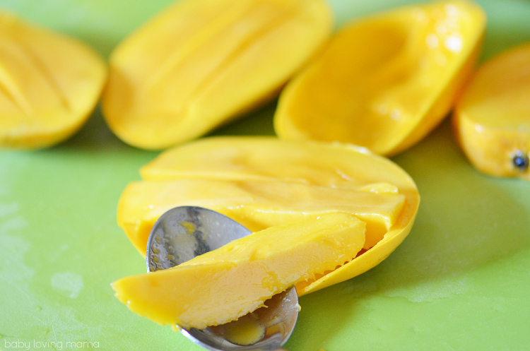 Sliced Champagne Mangoes