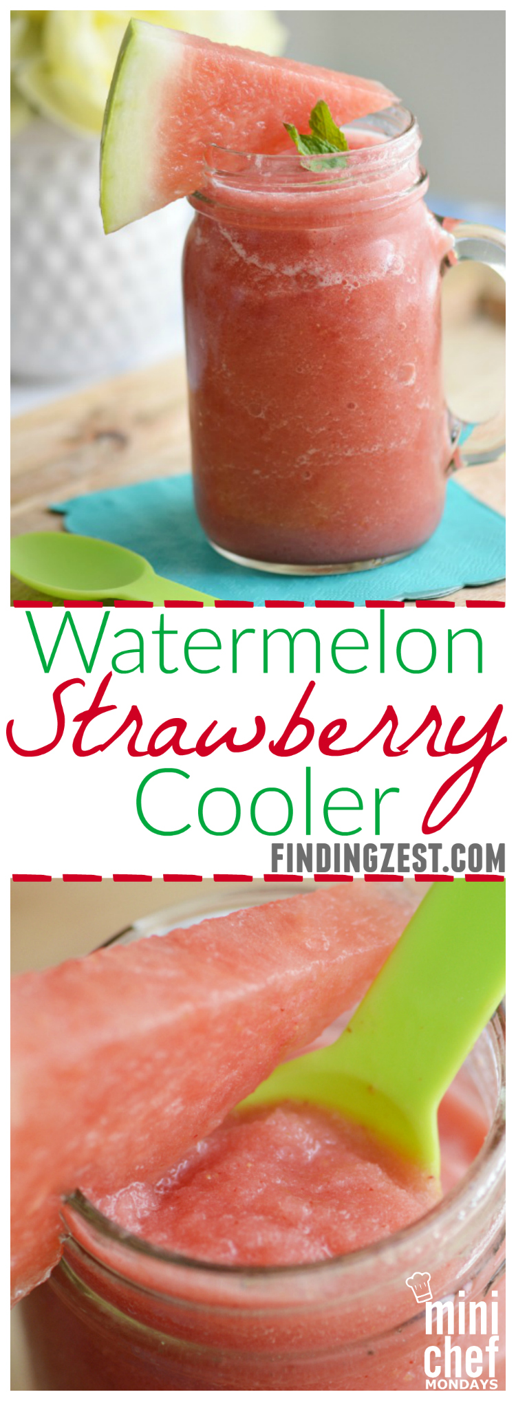 Watermelon Strawberry Cooler