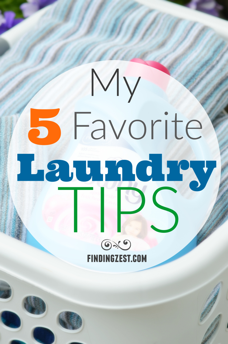 5 Favorite Laundry Tips