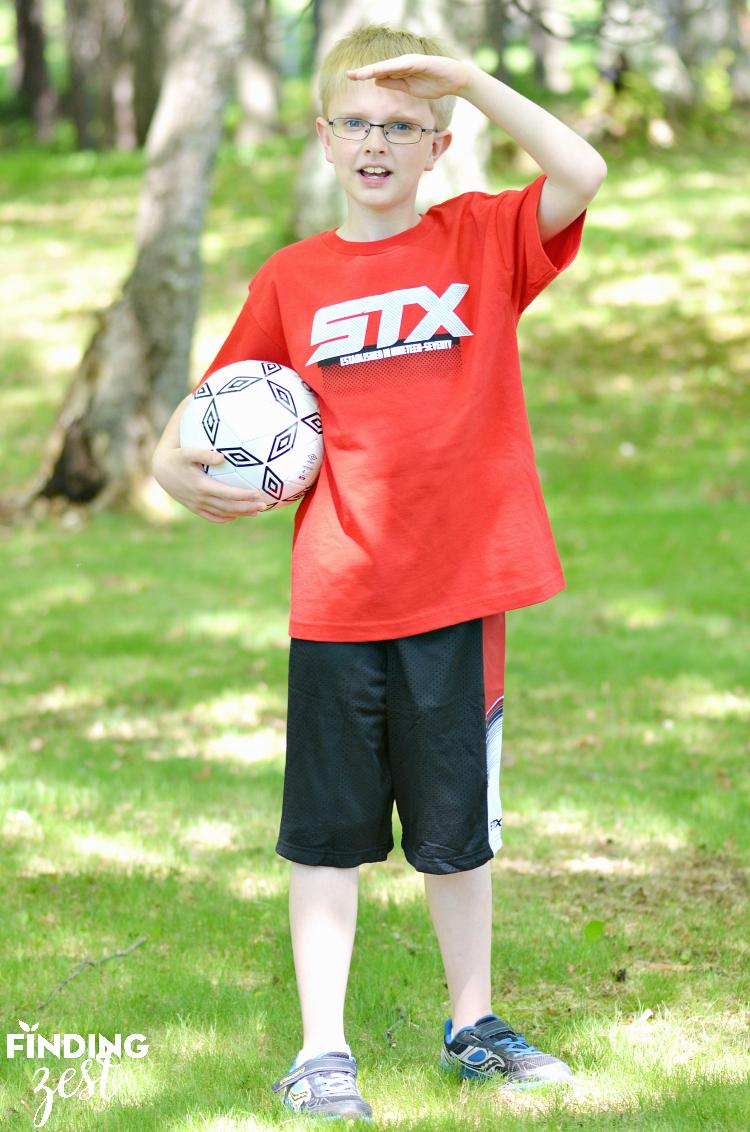 Kidbox STX Athletic Tee and Short Set