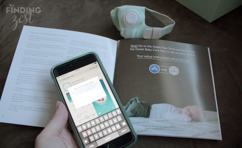 Peace of Mind with Owlet Smart Sock Baby Monitor Finding