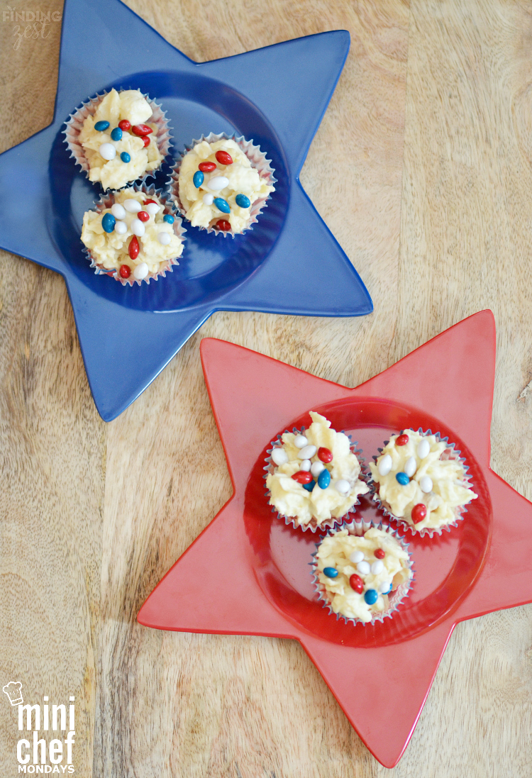 Patriotic Potato Chip Candy for 4th of July