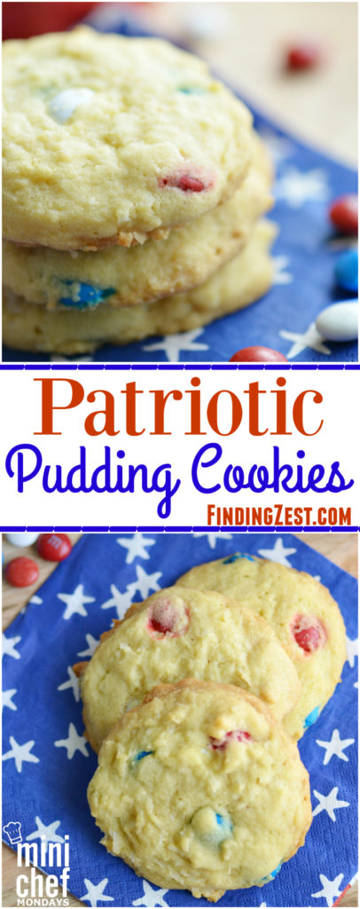 Patriotic Pudding Cookies