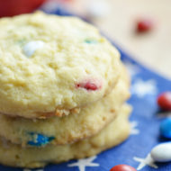 Patriotic Pudding Cookies | Mini Chef Mondays