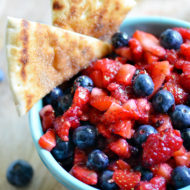 Very Berry Fruit Salsa | Mini Chef Mondays