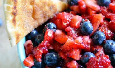 Very Berry Fruit Salsa | Mini Chef Mondays