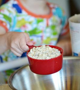Adding Oatmeal to Protein Bites