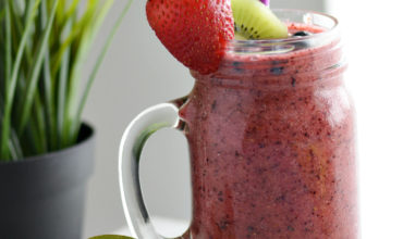 Berry Kiwi Cooler | Mini Chef Mondays