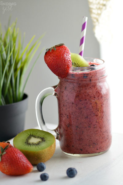 Berry Kiwi Cooler Recipe