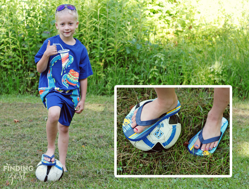 Children's Place Camp Essentials Sandals