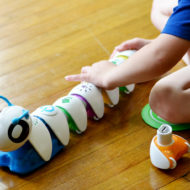 Preschooler Problem Solving with Fisher-Price Think & Learn Code-a-pillar + Giveaway