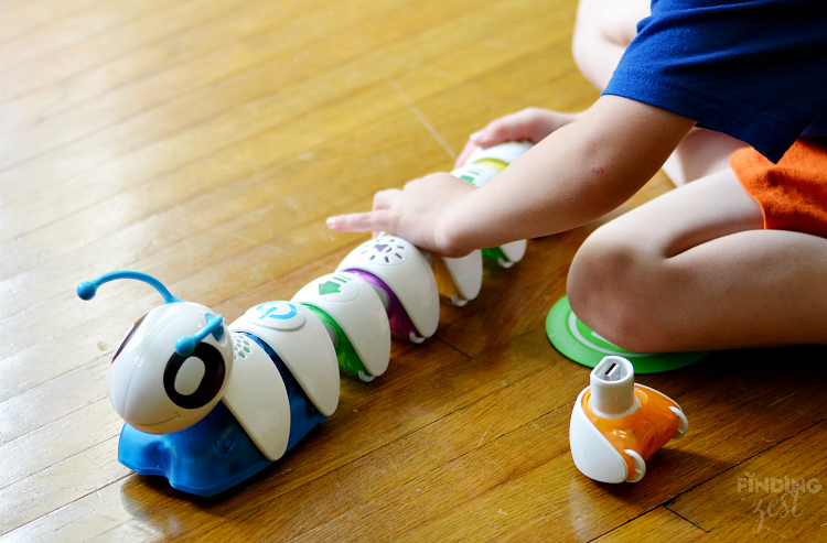 Coding with Fisher Price Code a Pillar