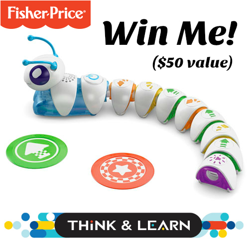 Fisher Price Think and Learn Code a Pillar Giveaway