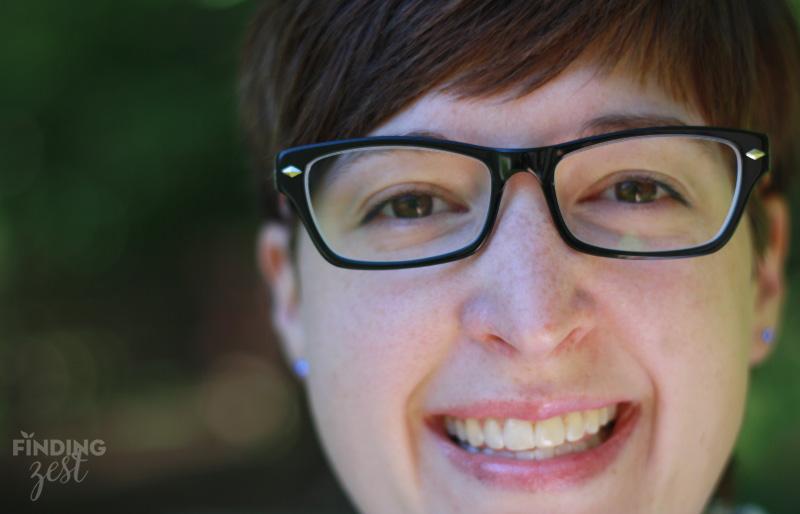 GlassesUSA Karlie Black front