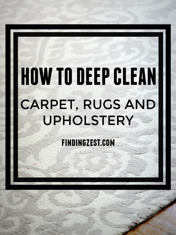 How To Deep Clean For Summer Finding Zest