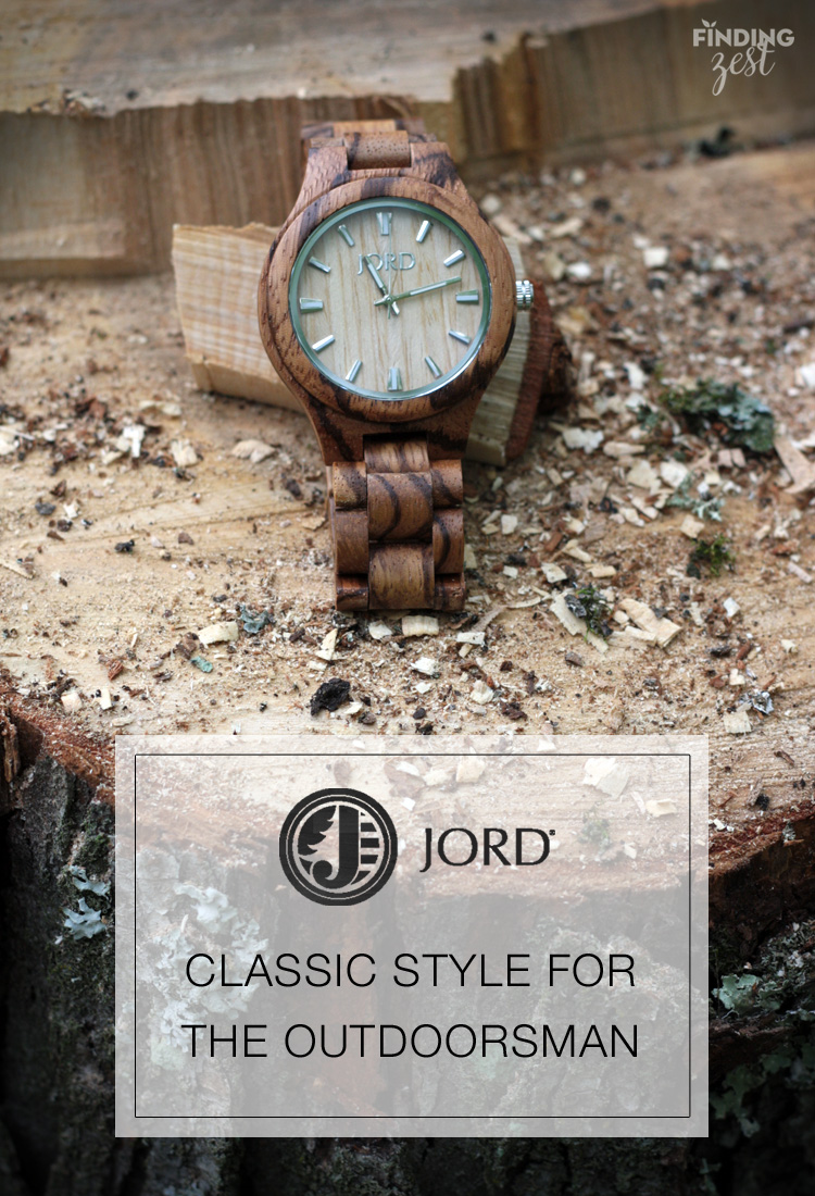 Jord Wood Watches Classic Style Outdoorsman