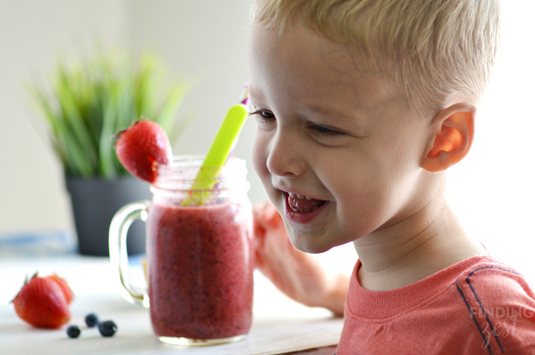 Loving the Berry Kiwi Cooler
