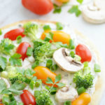 Veggie Flatbread Appetizer | Mini Chef Mondays