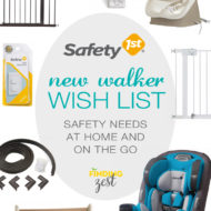 New Walker Wish List : Safety 1st