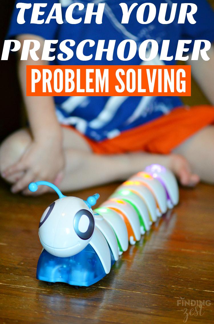 Teach Your Preschooler Problem Solving