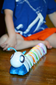 Trying Fisher Price Code a Pillar