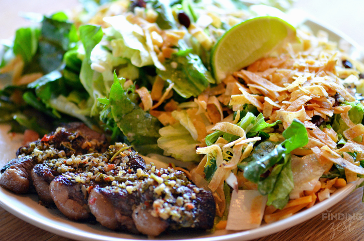 Applebees Wood Fire Grill Southwest Steak Salad