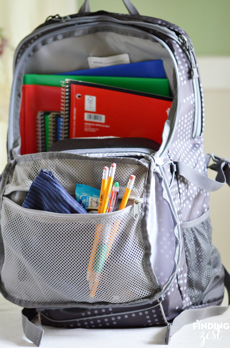 Backpack Must Haves for Back to School