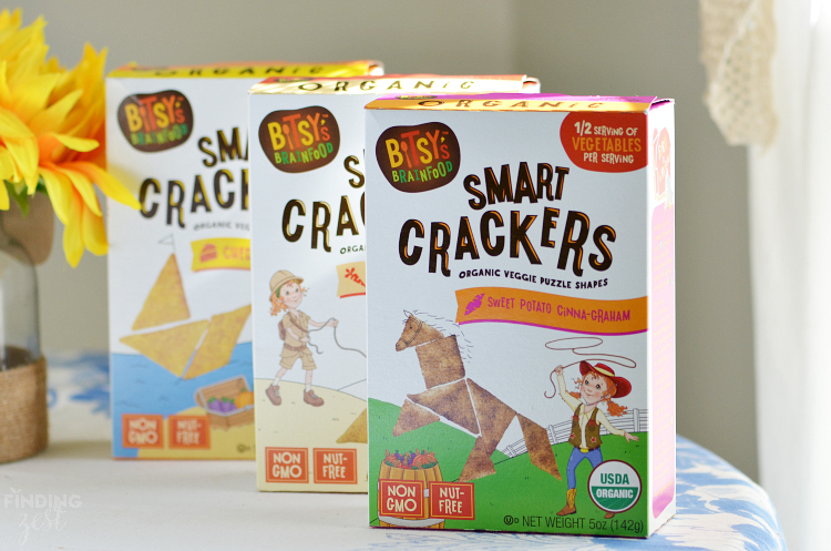 Bitsys Brainfood Smart Crackers for School Lunch