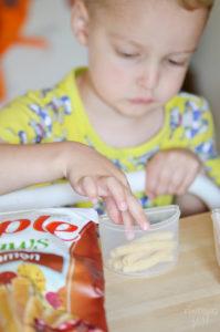 Cinnamon Apple Straws for School Lunch