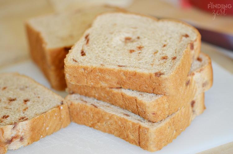 Cinnamon Burst Bread for French Toast Sticks