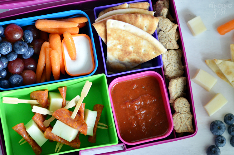Easy Pizza Dippers for School Lunch