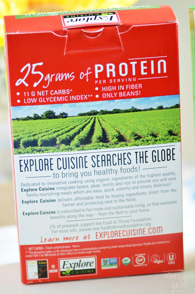 Explore Cuisine Protein Pasta