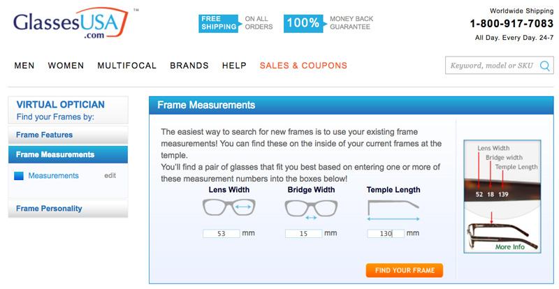 GlassesUSA Virtual Optician