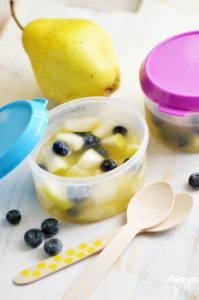 Homemade Fruit Cup for School Lunches