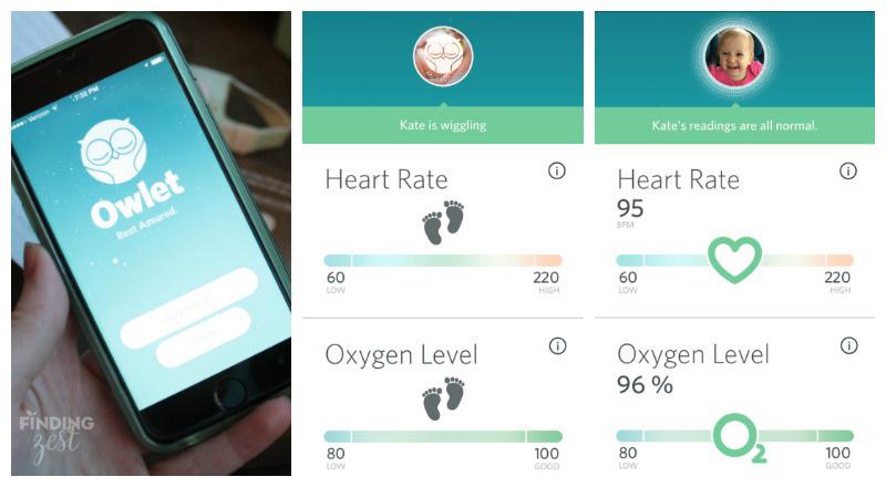 Owlet Baby Monitor Heart O2