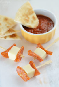Quick Pizza Dippers for School Lunch