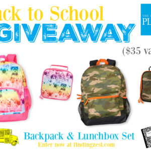 Back to School with Emojis from The Children's Place + Giveaway