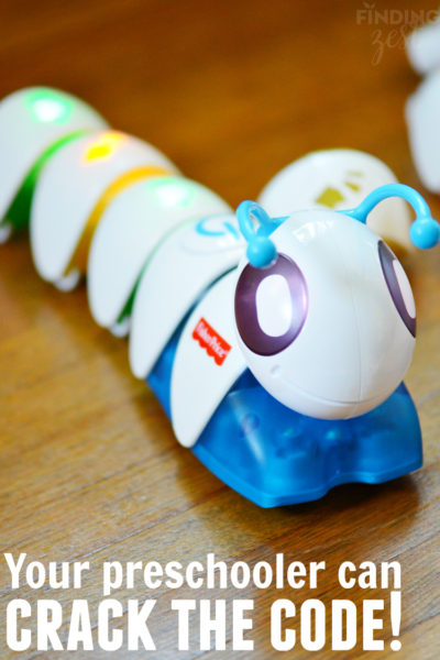 Your Preschooler Can Crack the Code with Fisher Price Think and Learn Code a pillar