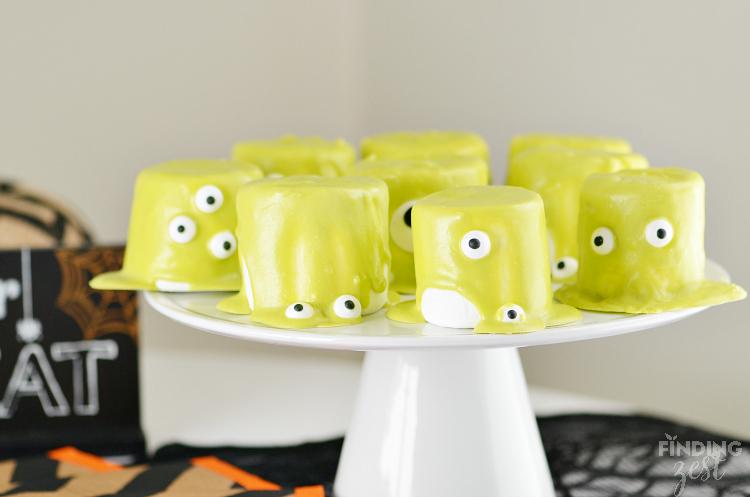 Ghostbuster Slimer Marshmallows