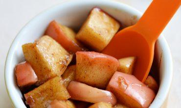 Pumpkin Spice Sauteed Apples