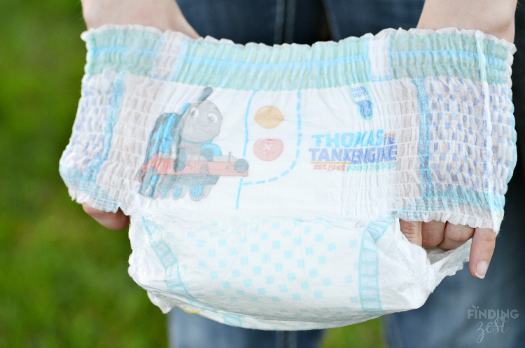 Thomas the Tank Engine Pampers Easy Ups