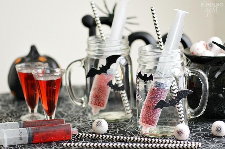 Bloodshot Halloween Drink for Kids